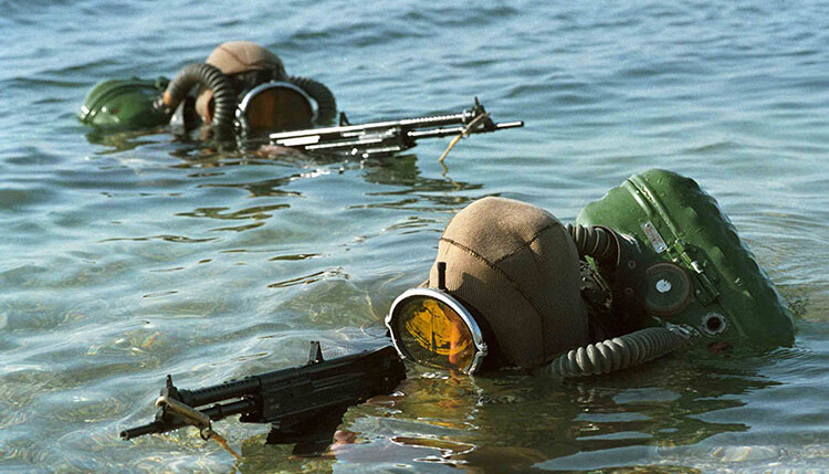 Russian Special Forces training